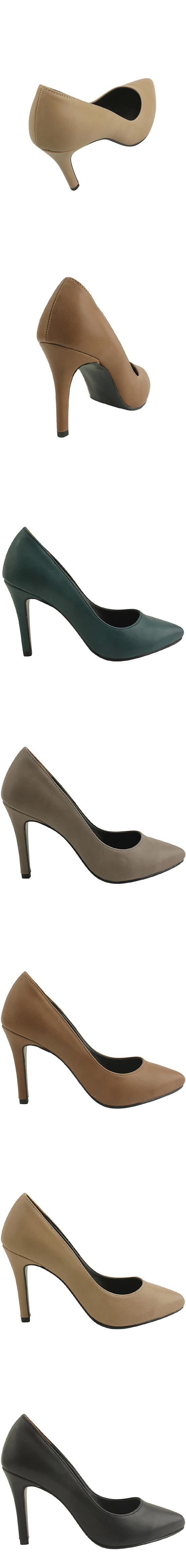Minimal Stiletto High Heels 9cm Gray