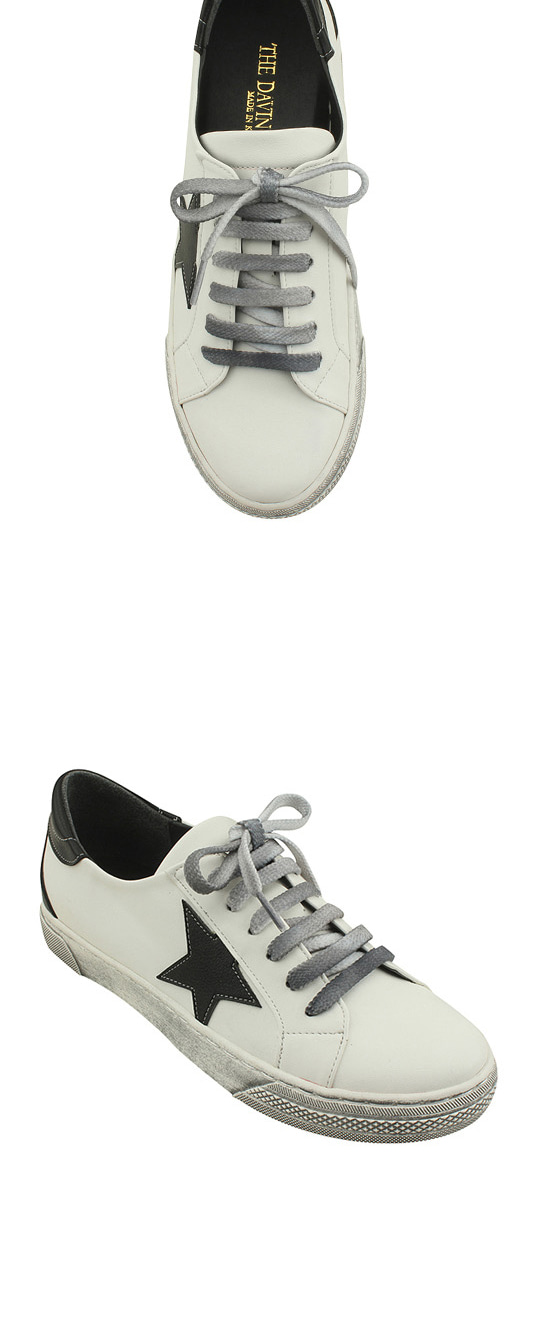 Vintage Faded Star sneakers white