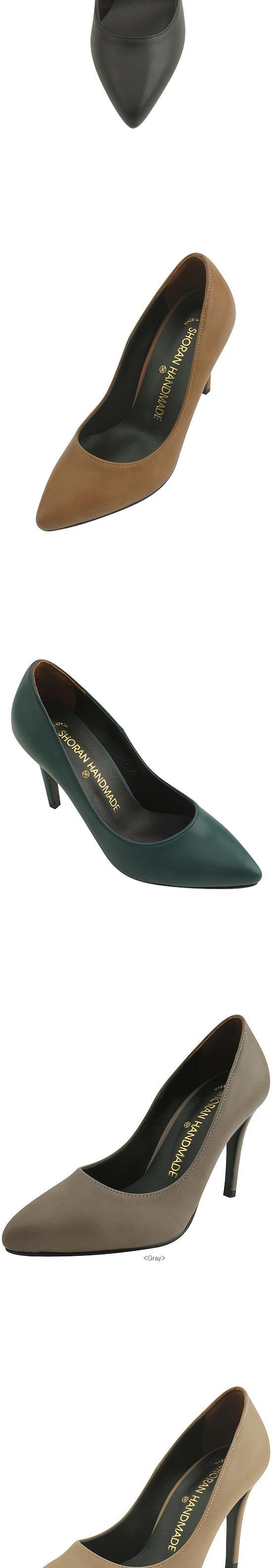Minimalist Stiletto High Heels 9cm Black