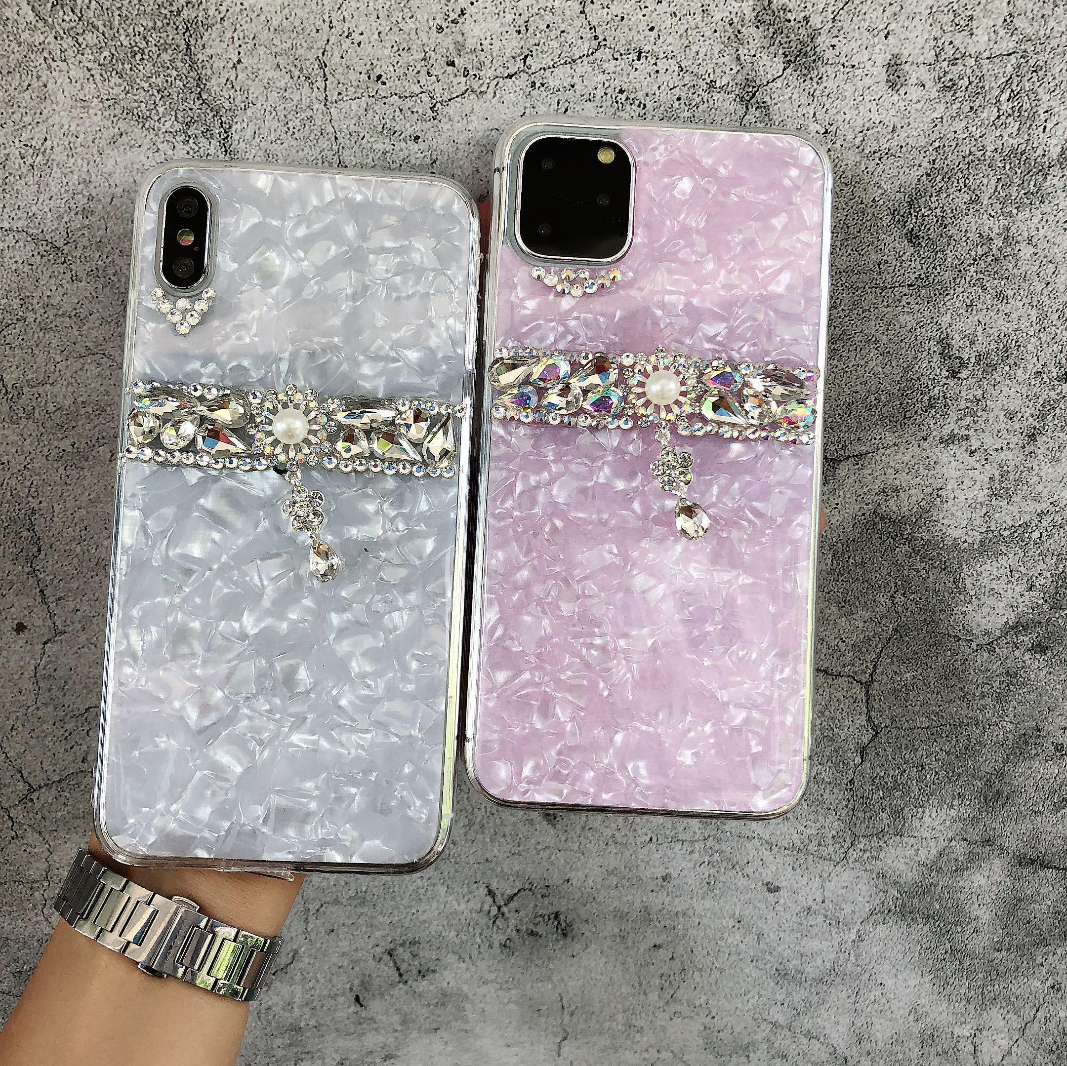 Tongkun Jungu iPhone 11 Pro Max iPhone XS iPhone XR iPhone 8 Marble Cubic Ring Case