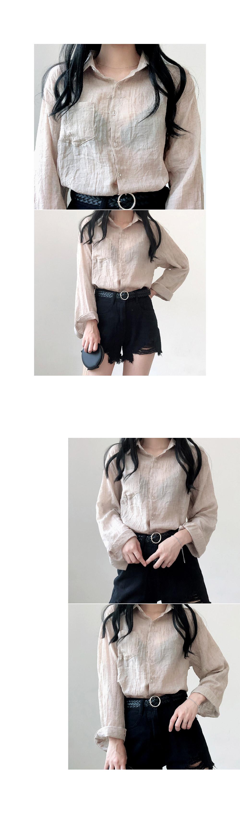 Pastel Summer Gauze shirt