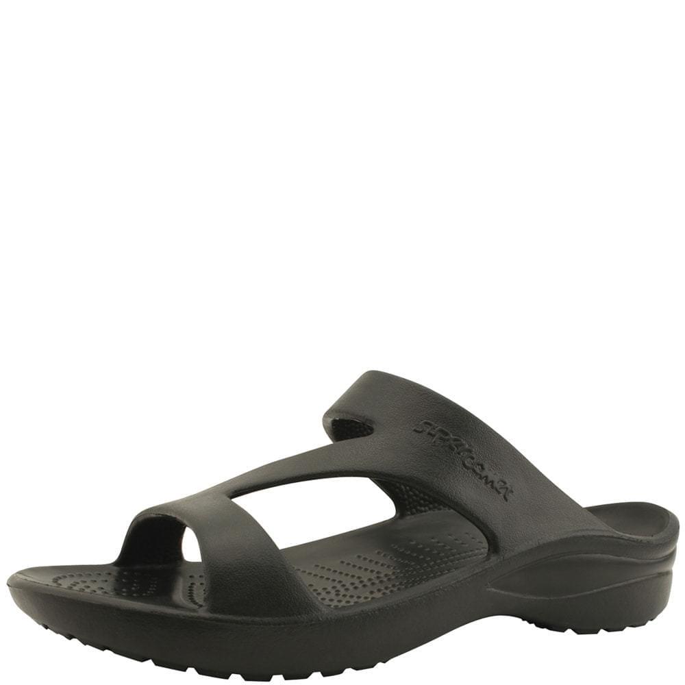 Aqua Soft Cushion Slippers Black