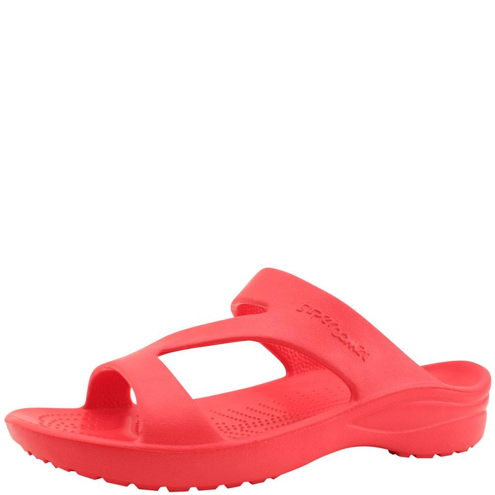 Aqua Soft Cushion Slippers Red