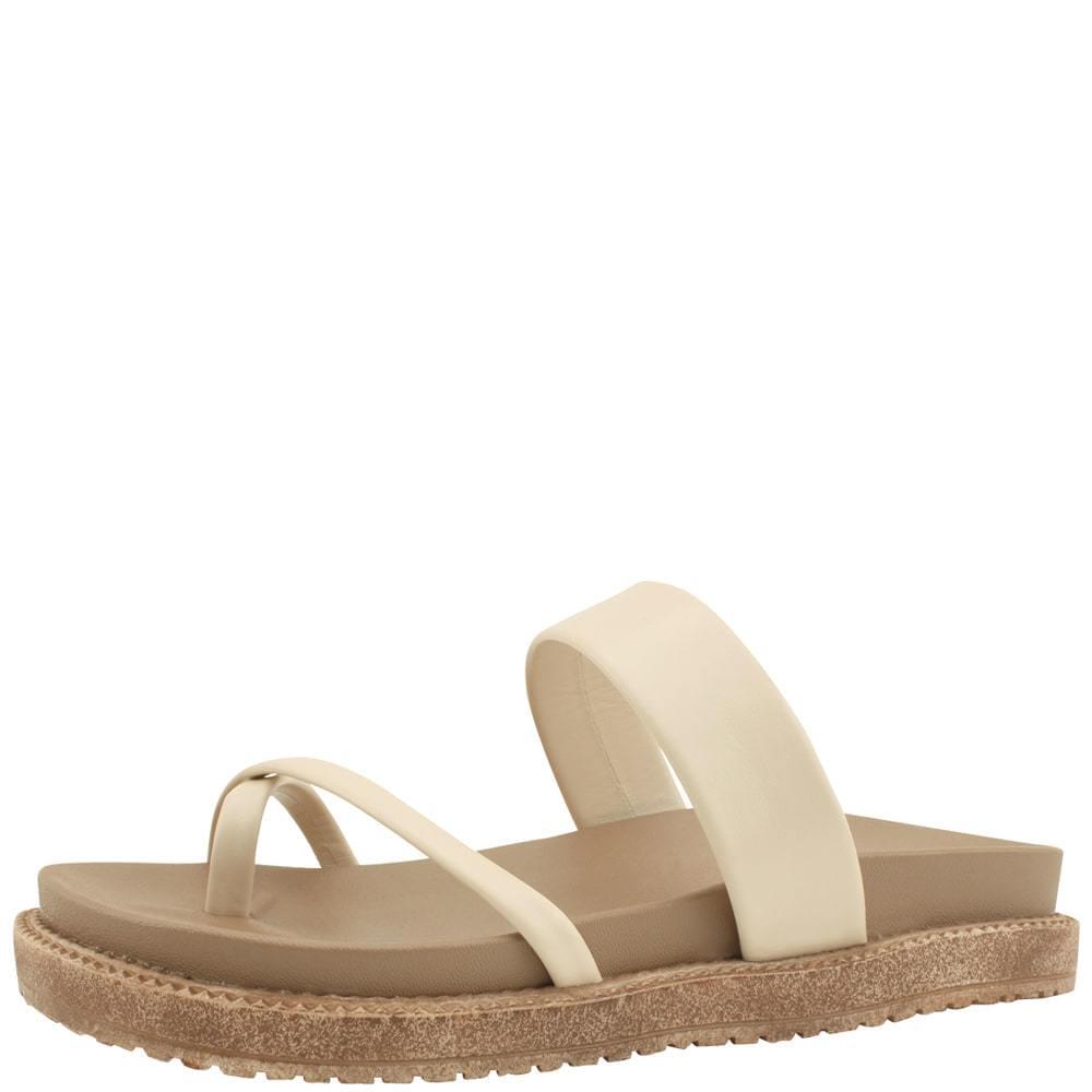 Flip-flops Mary Jane Flat Slippers Beige