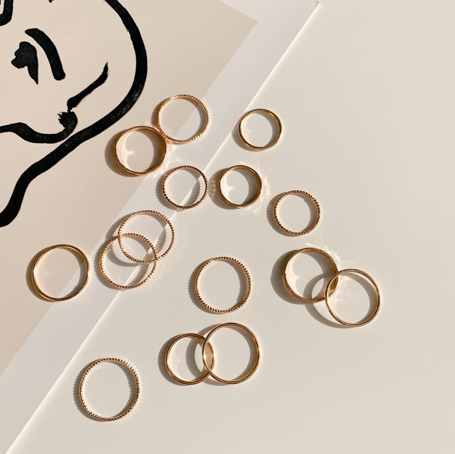 Rudd Daily Simple Set Layered Ring
