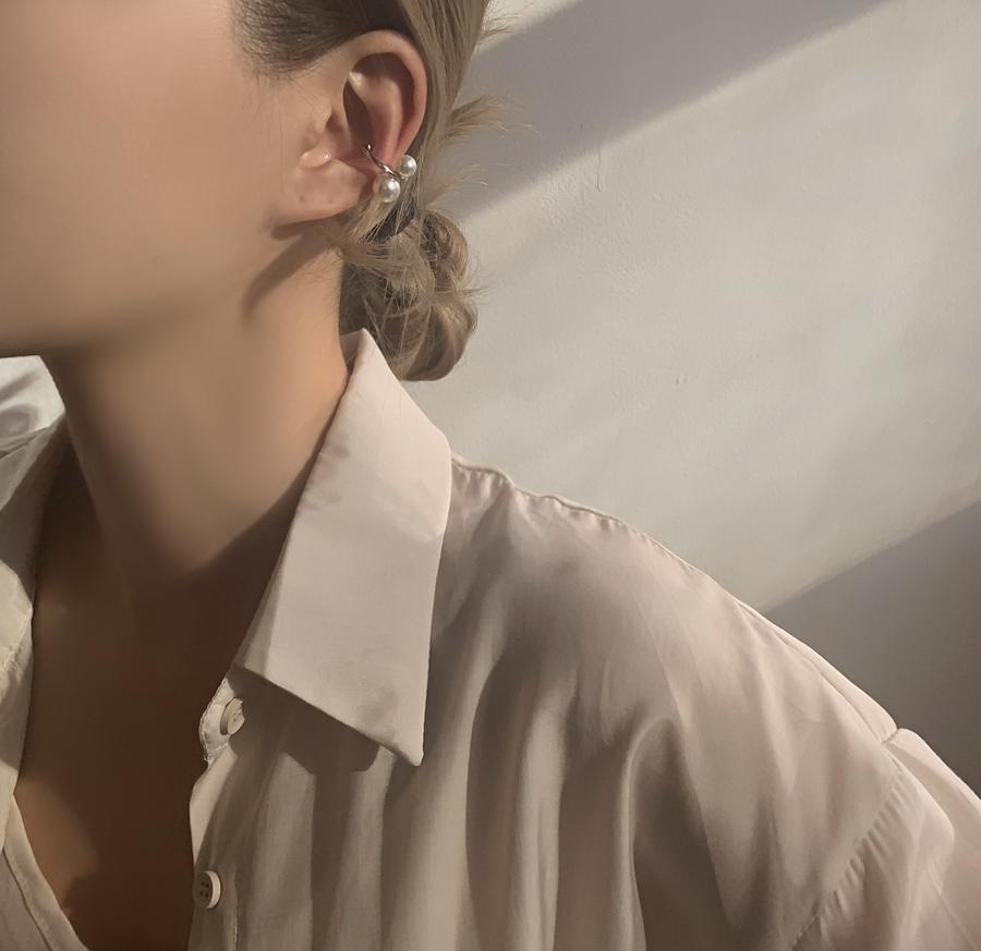 Turanee Pearl Ear Cuff
