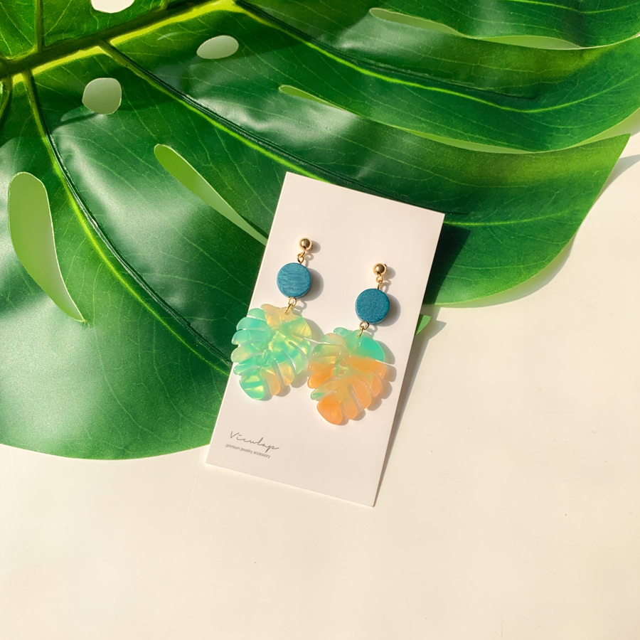 Summer Wood Point Earring Earrings