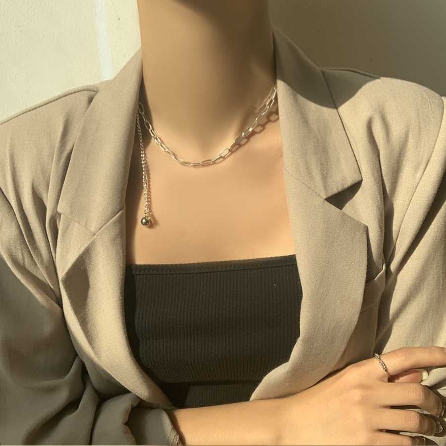 Recall side chain necklace