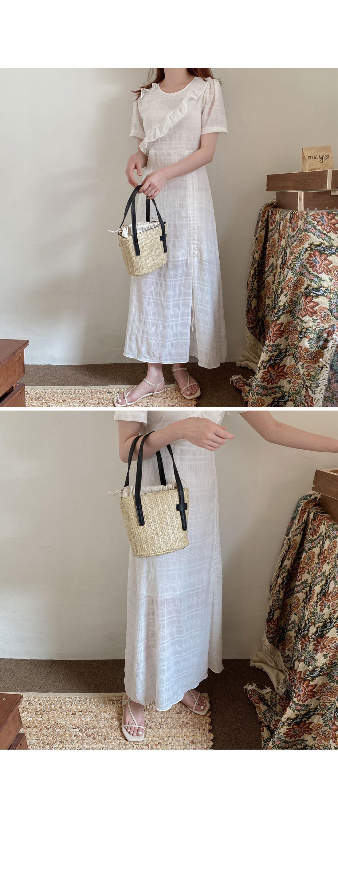 Phuket Rattan Tote & Cross Bag