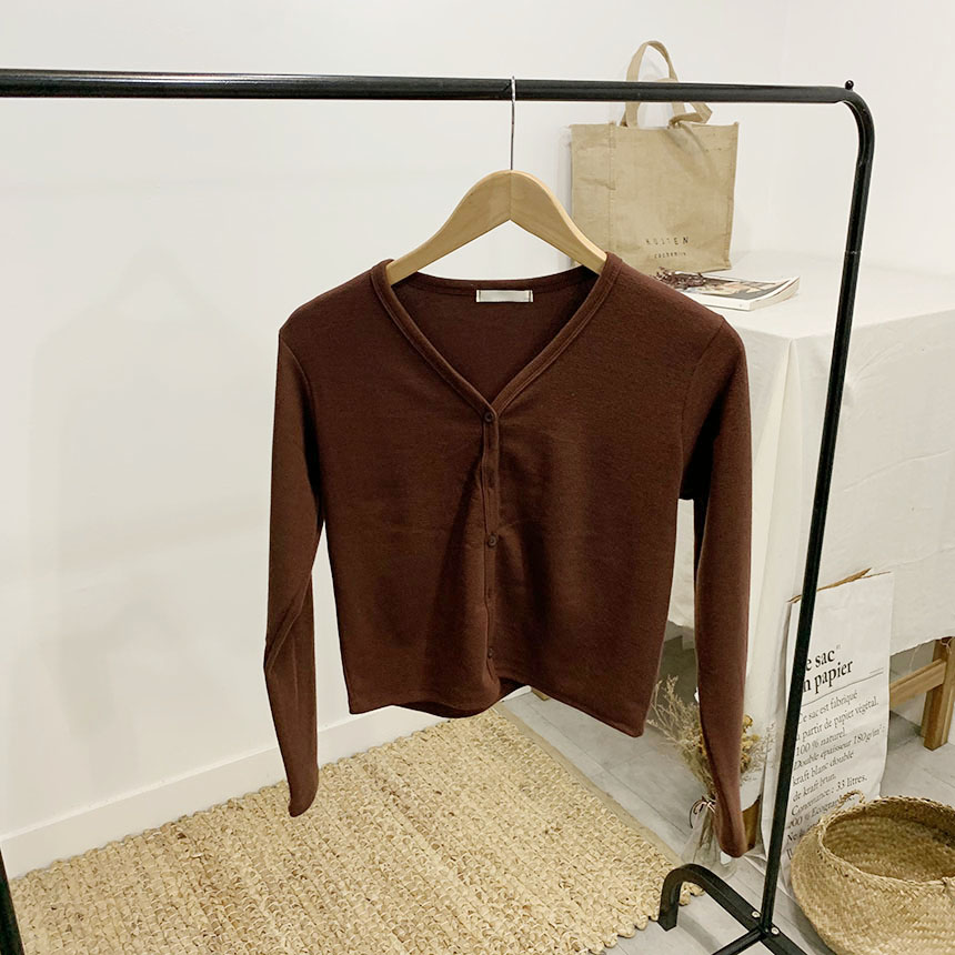 Only Richie V Neck Long Sleeve Cardigan
