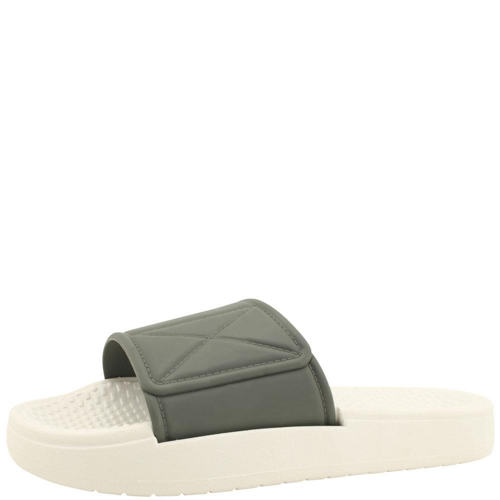 Soft Cushion Simple Slippers Gray