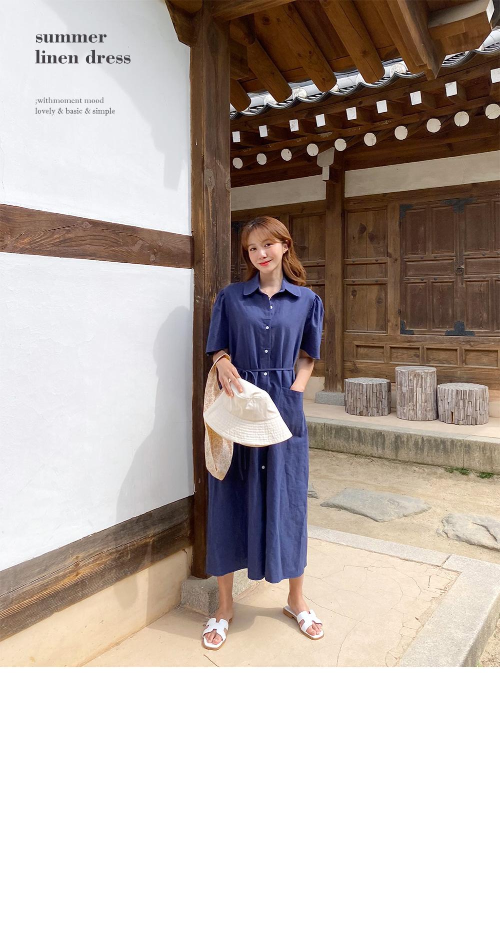 Our linen dress