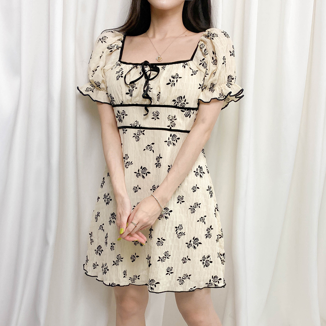 Chinese zodiac flower dress