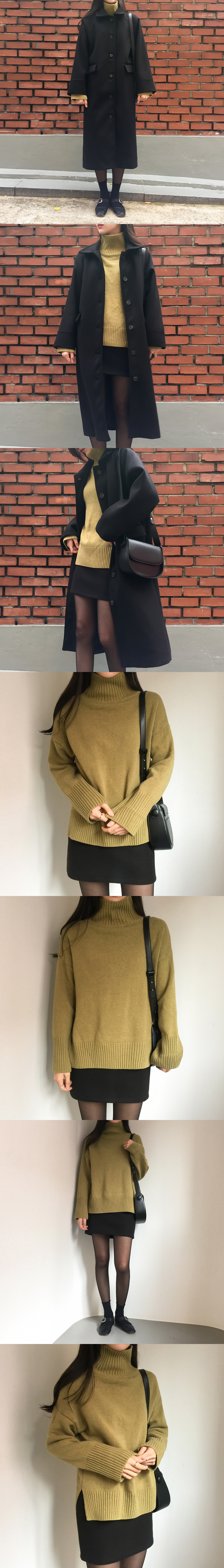 Wool Loose Knit Top