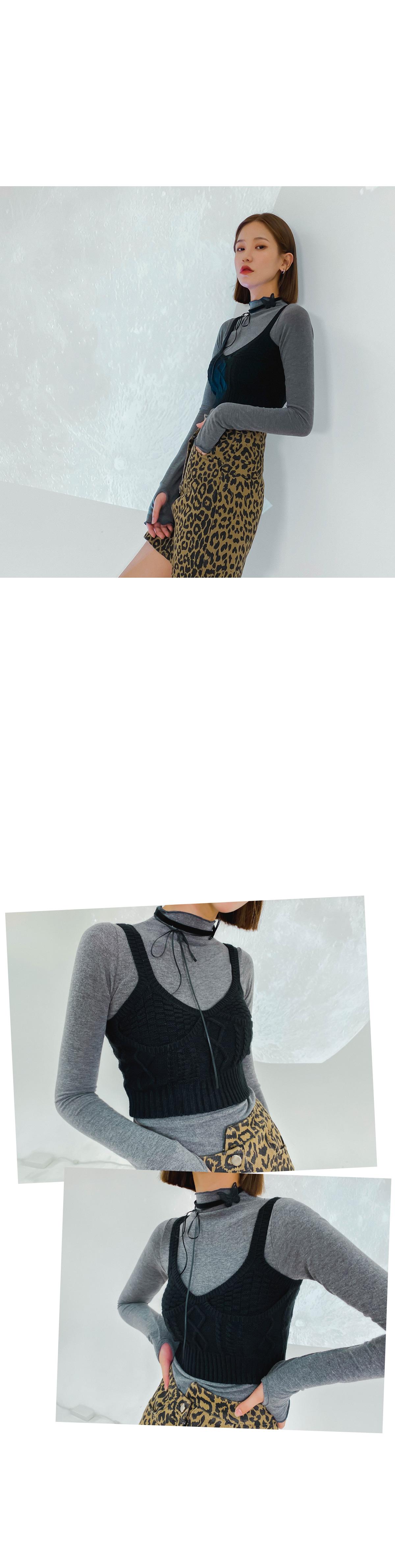 Knit Cro Bustier