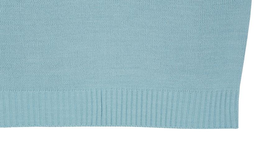 Round Stripe Knit