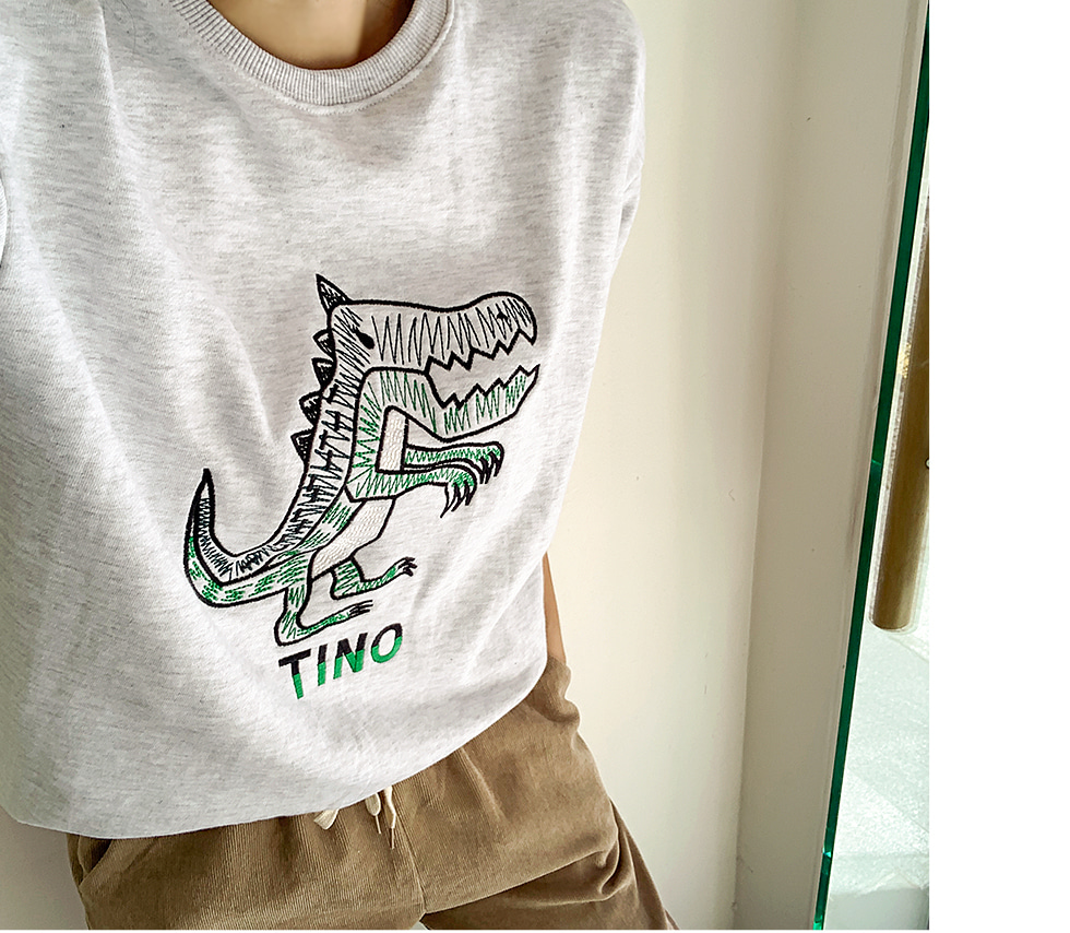 Tino embroidery Sweatshirt