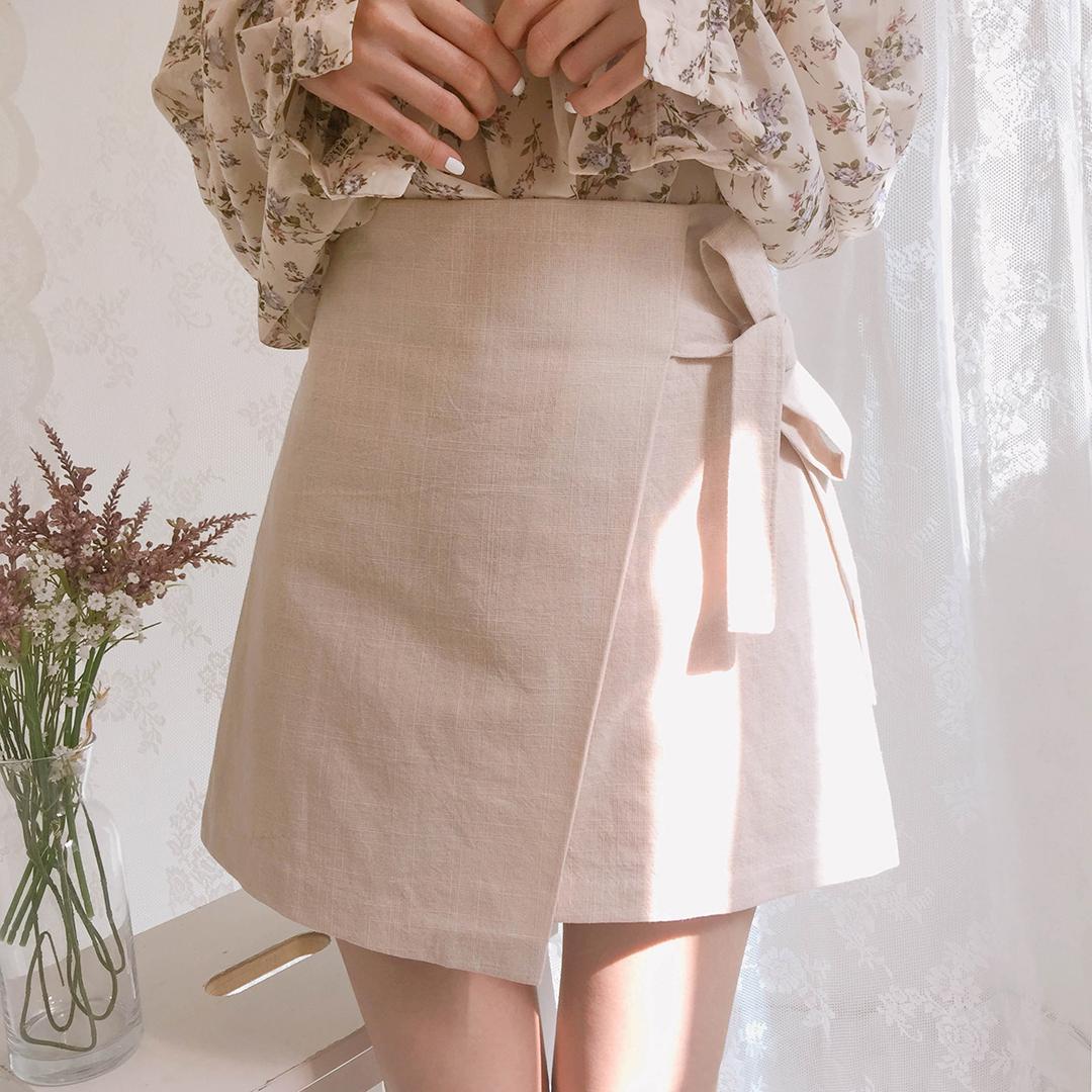 Summer Wrap Ribbon Skirt