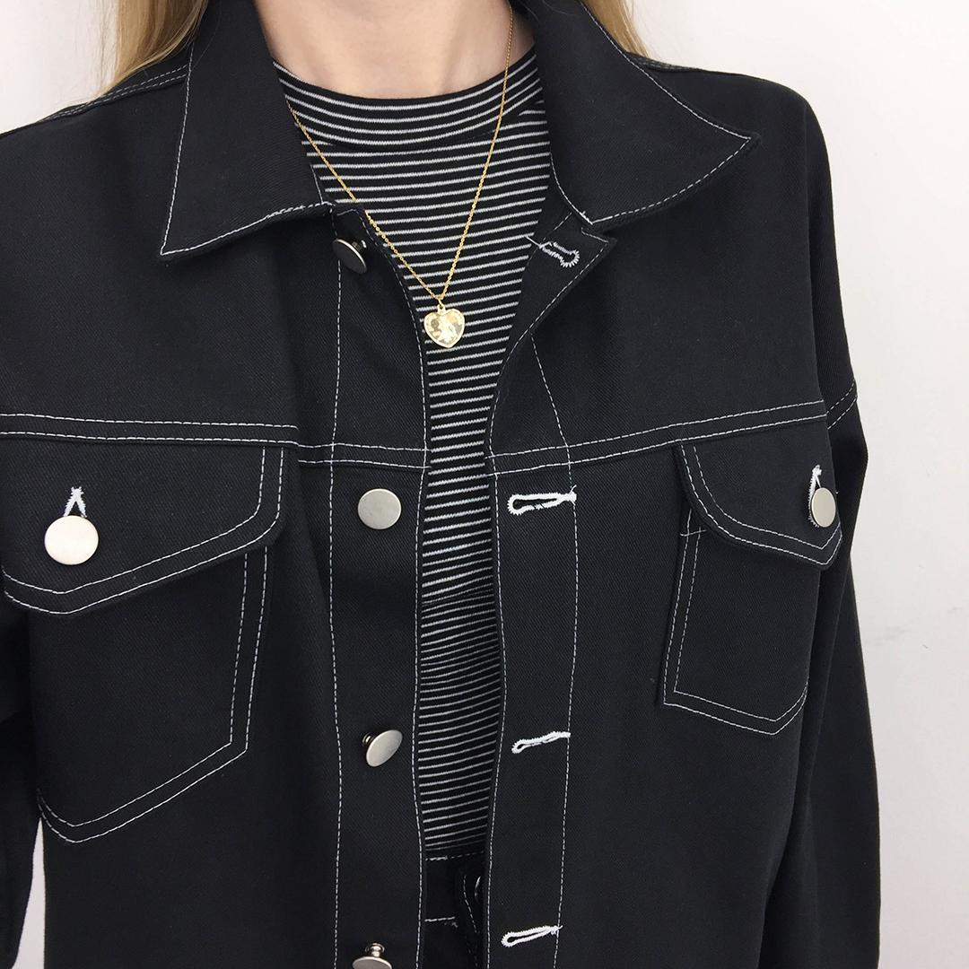 Boxy Stitch Jacket