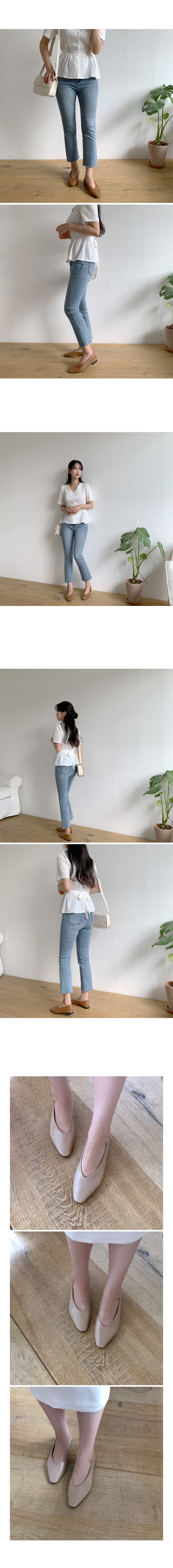 Lounge simple flat shoes
