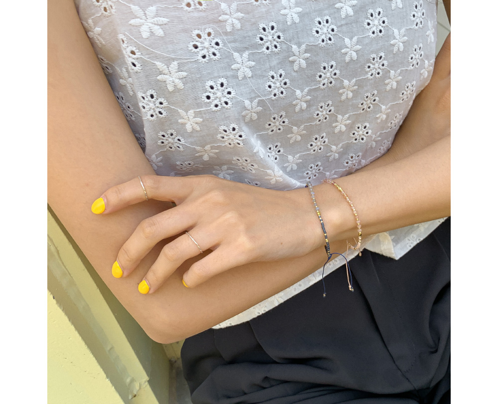 Vintage mood beads bracelet