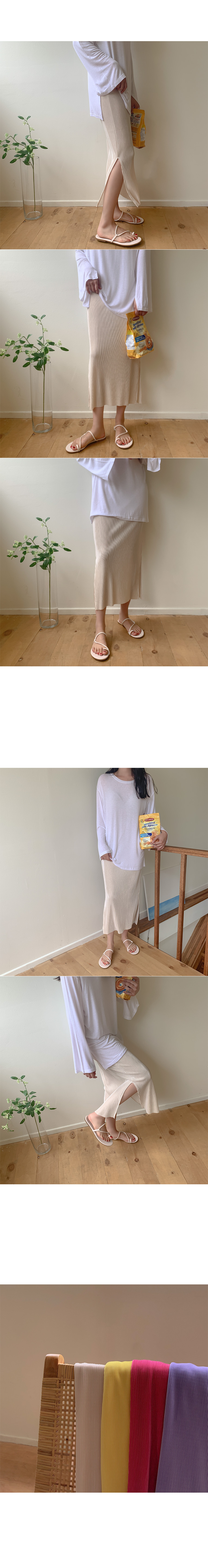 Raid pleated skirt