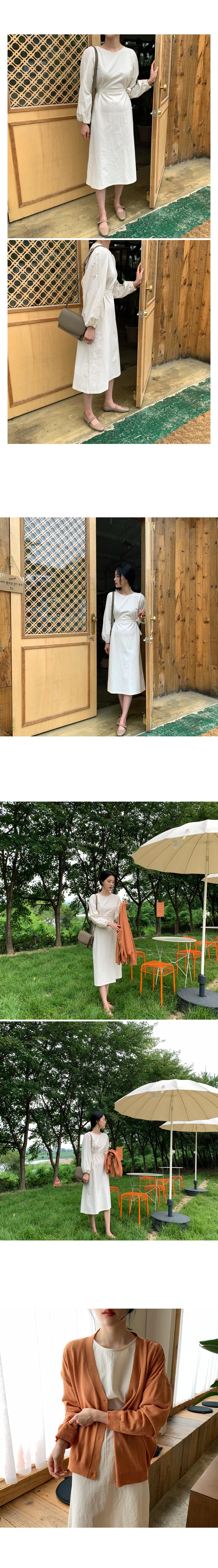 Chase Cotton Long Dress-Pink