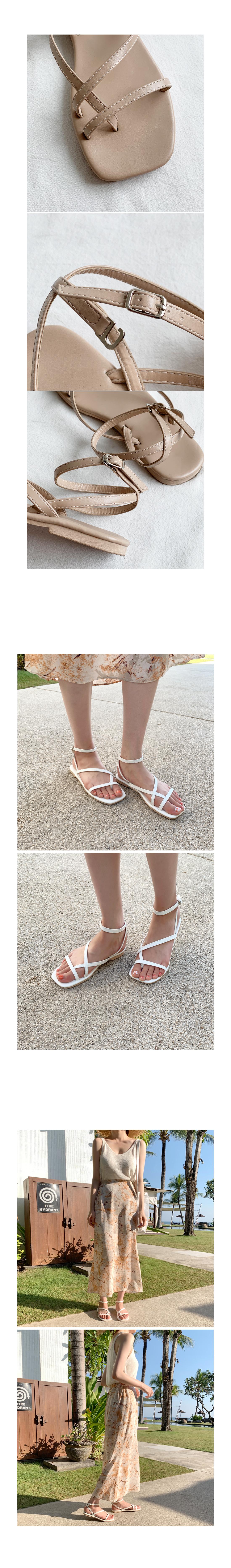 Applebee strap sandals