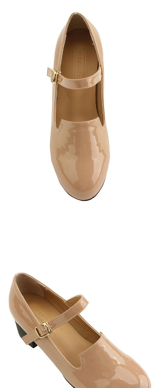 Mary Jane Middleheel Shoes Skin Pink