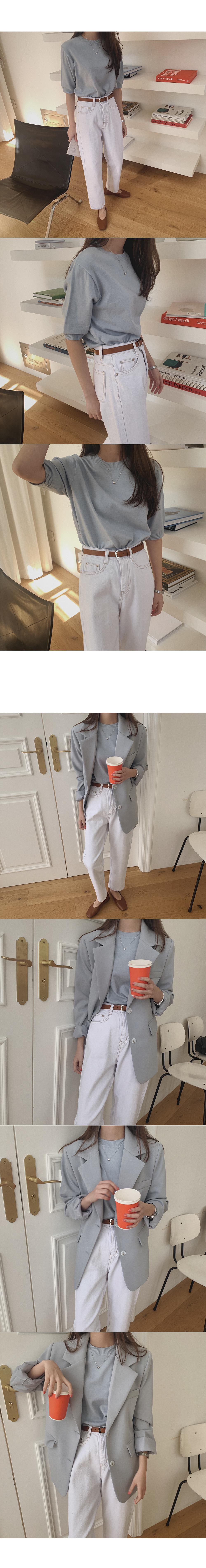 Away date cotton pants