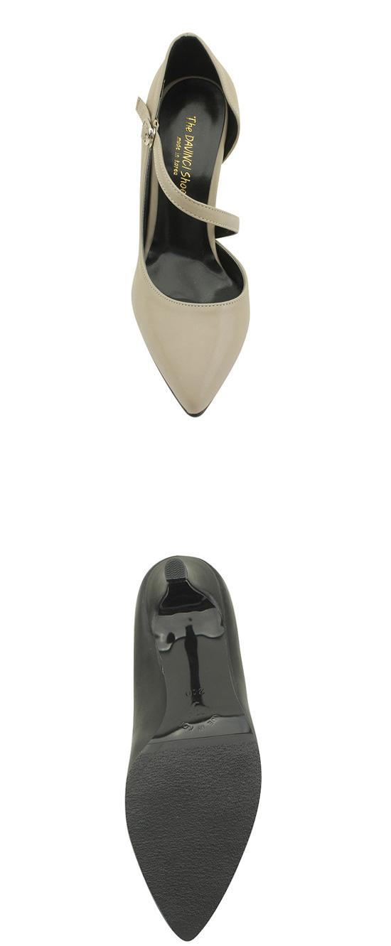 Stiletto Inside Heel Beige