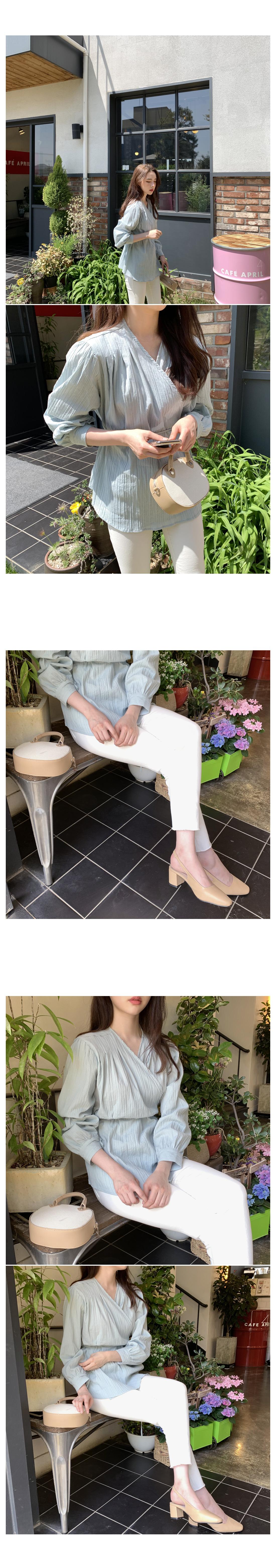 Metro Slim Flat Pants-Khaki Large Size