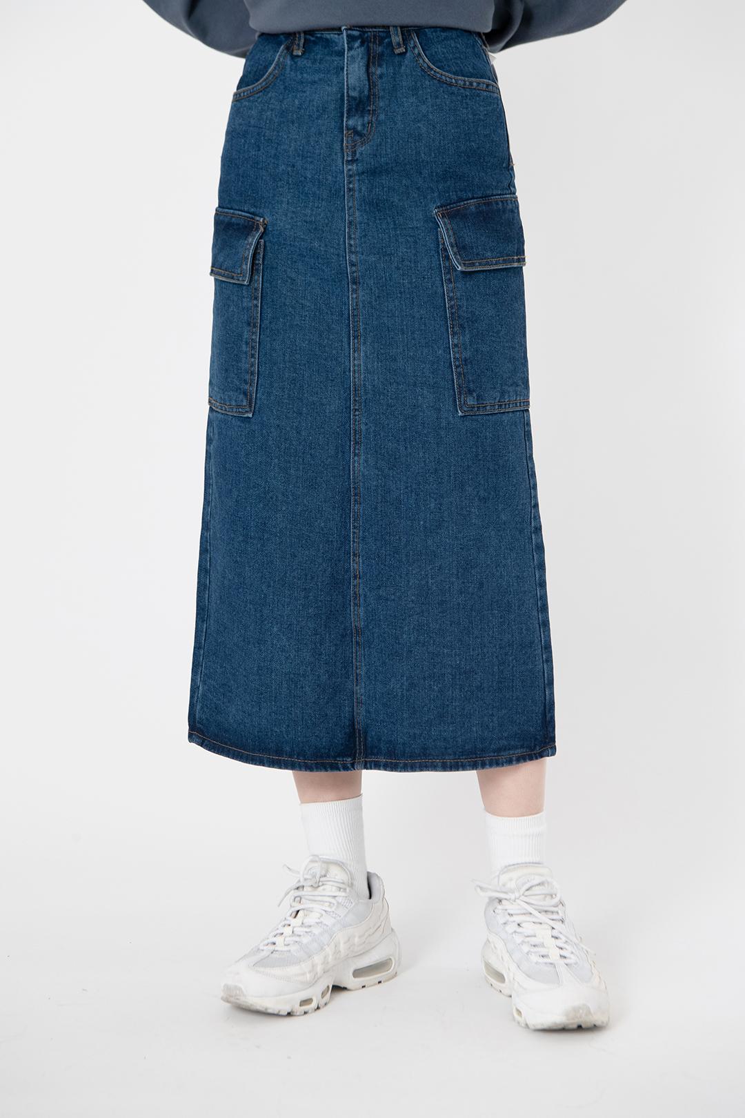 Nini pocket long skirt