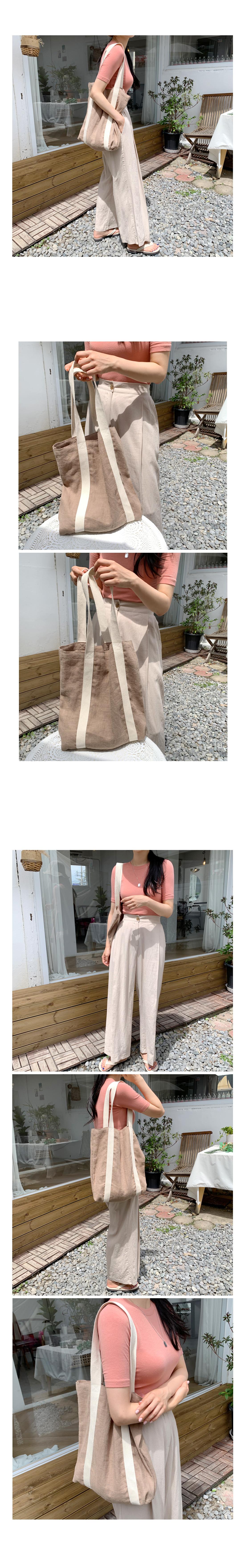 Natural Linen Eco Bag-Jinbei