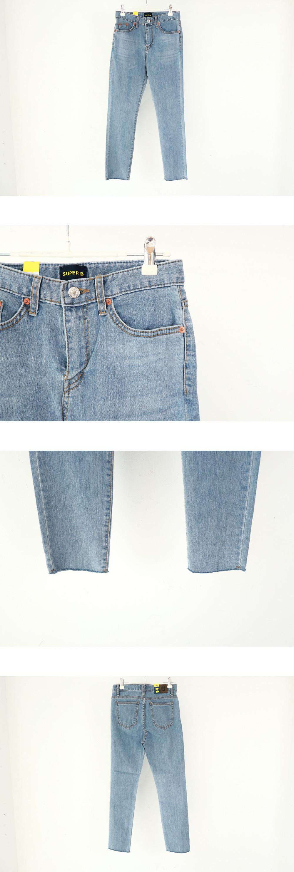 3571 High Slim Straight Denim Pants
