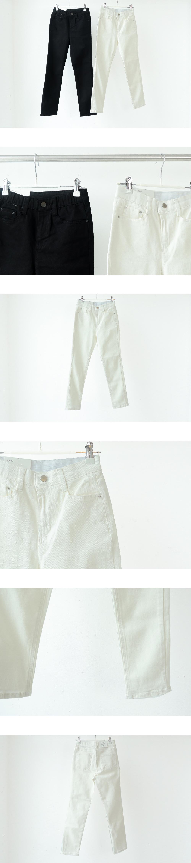 501 Noah Banding Slim Straight Cotton Pants