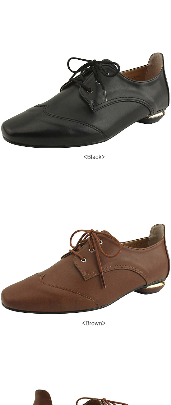 Oxford Classic Thong Loafers Brown