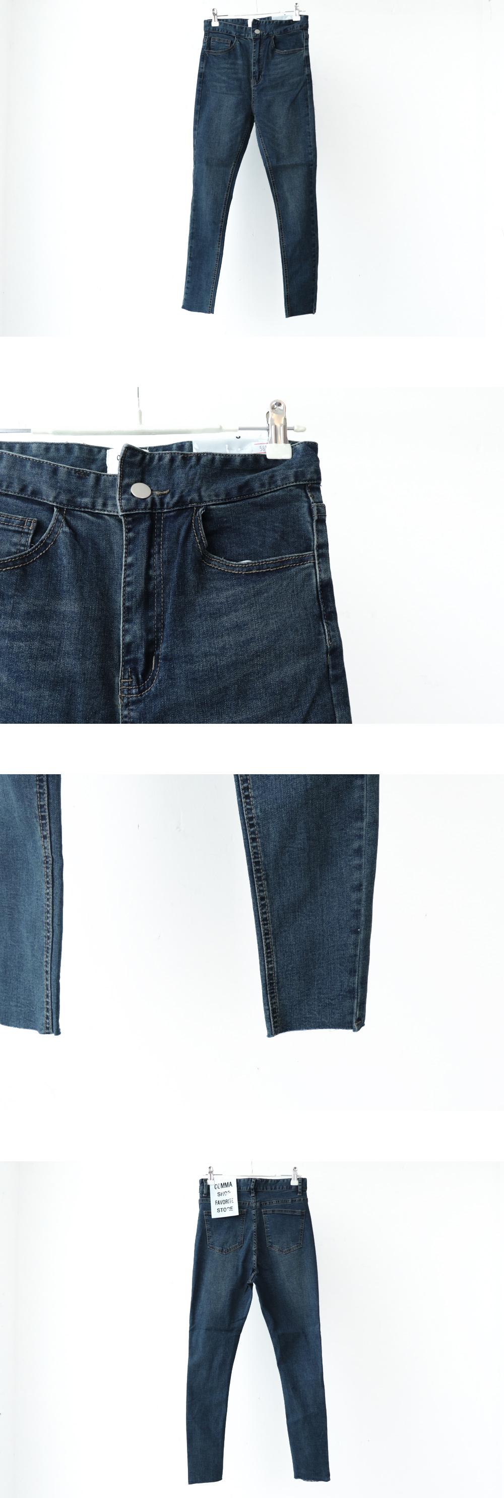 5815 waist unfooted skinny jeans