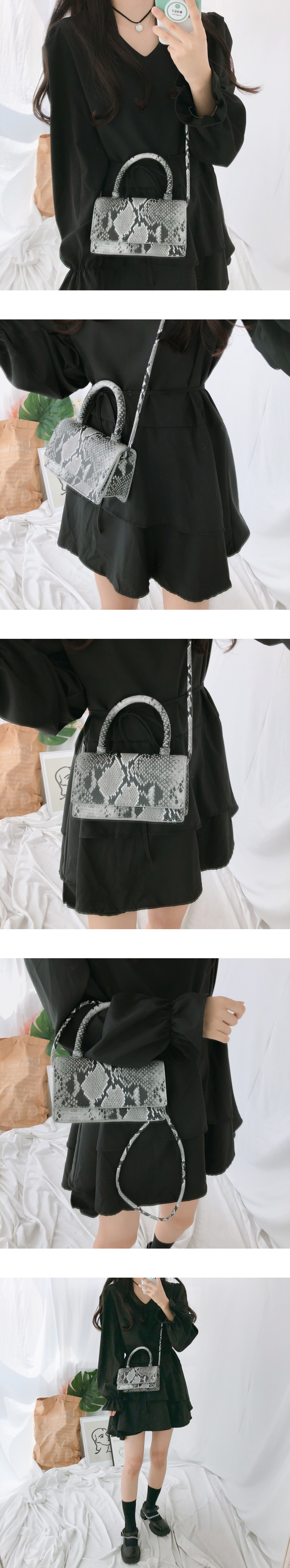 063 mini rectangular hard tote shoulder bag