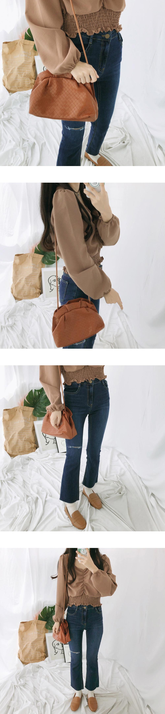 1407 Rounded Bokjori Shoulder Bag