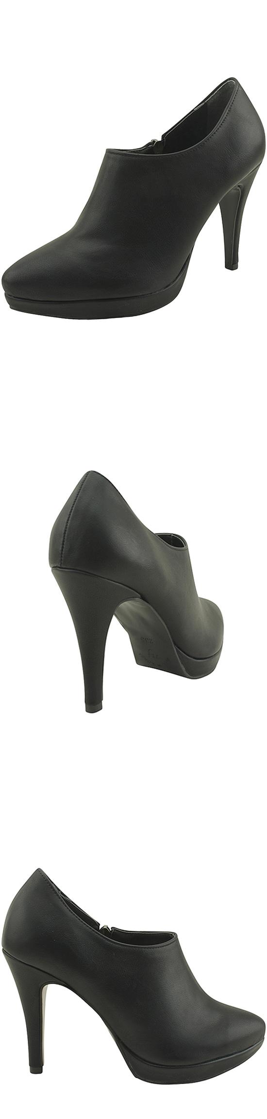 Stiletto high heels heavier booties