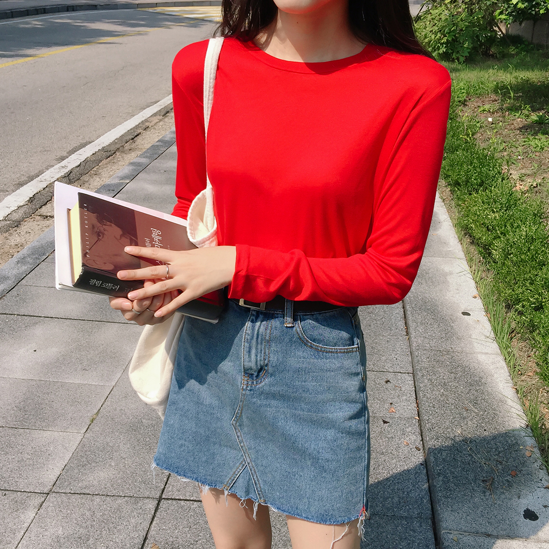 ESSAYBasic Long Sleeve T-Shirt