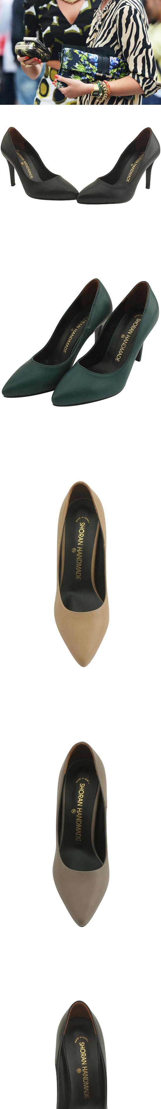 Minimalist Stiletto High Heels 9cm Turquoise