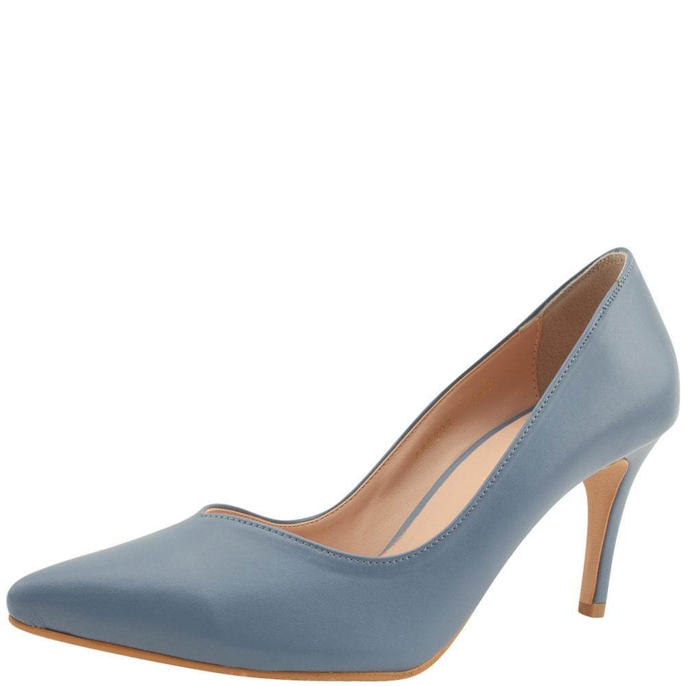 Simple Slim Stiletto High Heels 8cm Blue