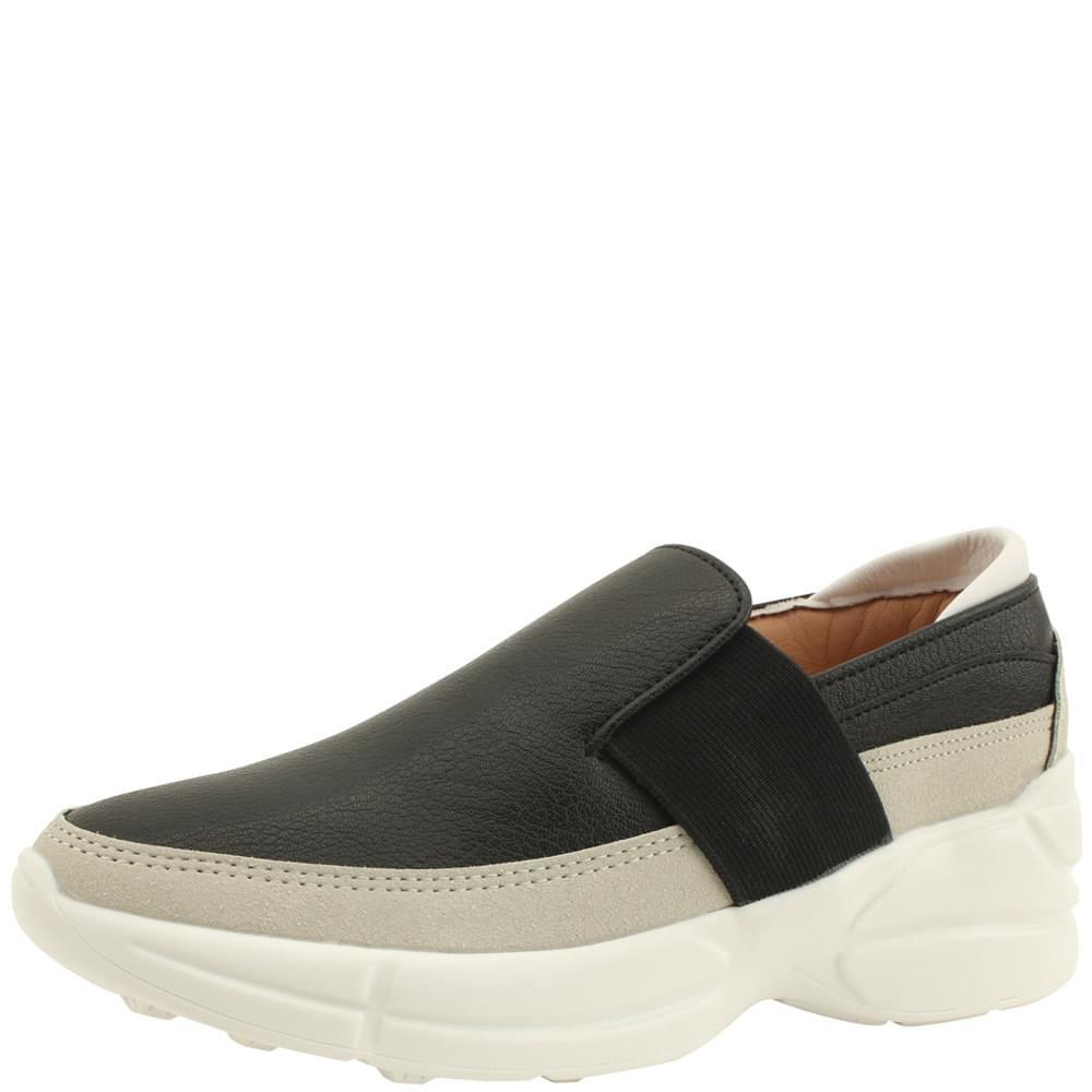 Banding Combi Height Sneakers Black