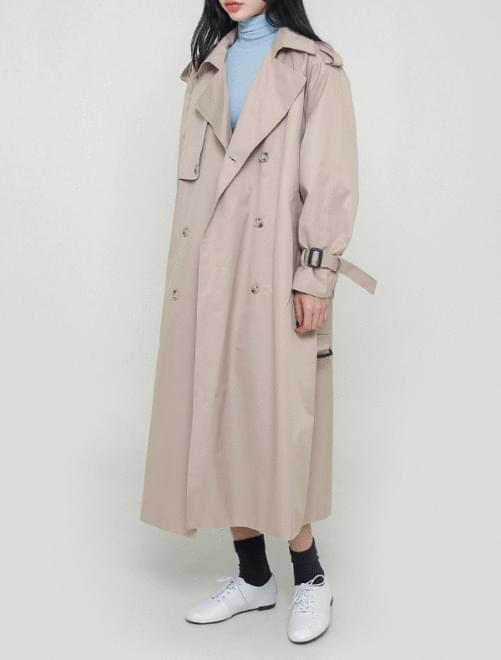블랑 트렌치 코트(2color)