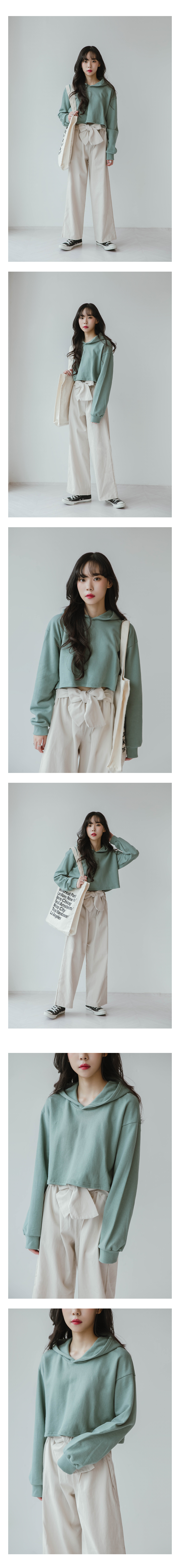 Daily Crop Hooded T-Shirt