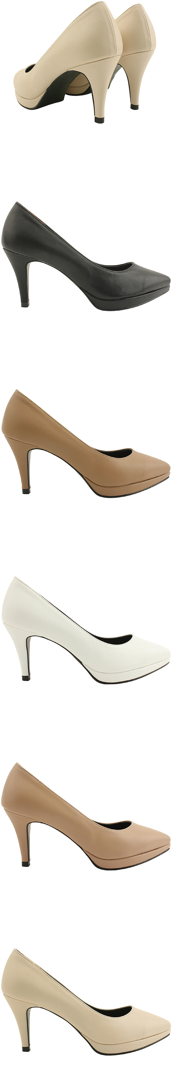 Stiletto heels black