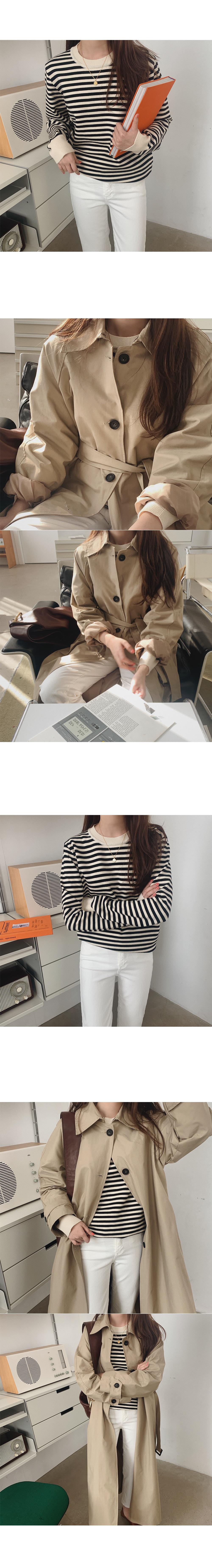 Leedon Striped Wool Knitwear