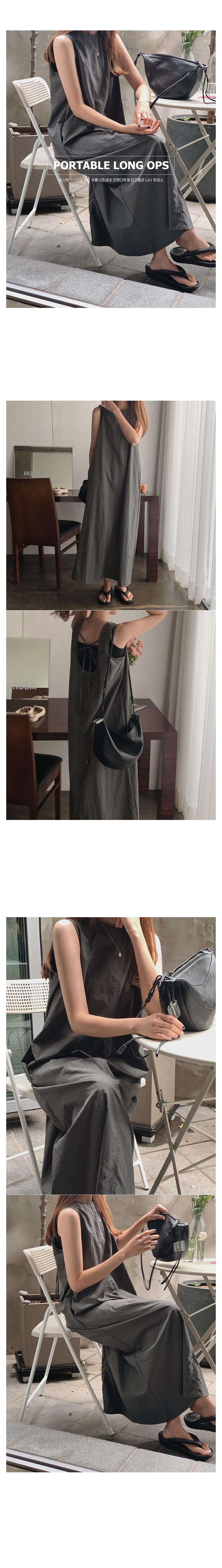 Portable long dress